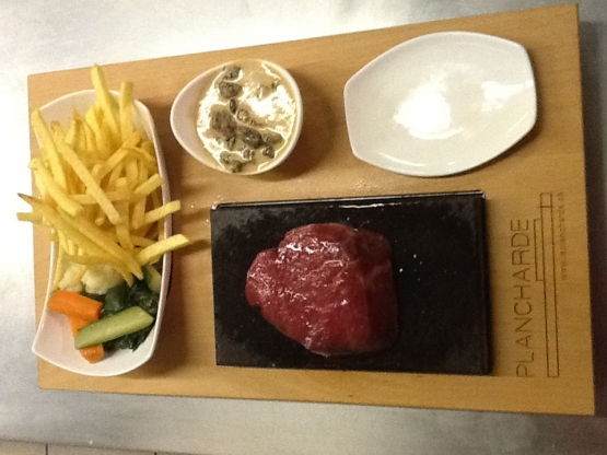 Ardoise filet de boef